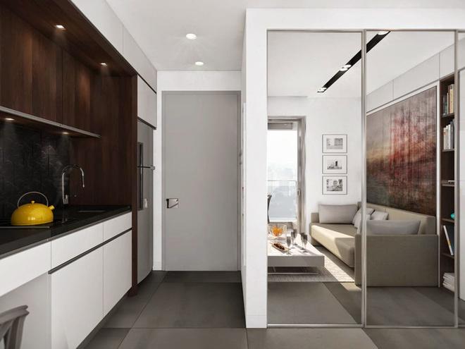 Nội thất cho căn hộ nhỏ xinh 19m2