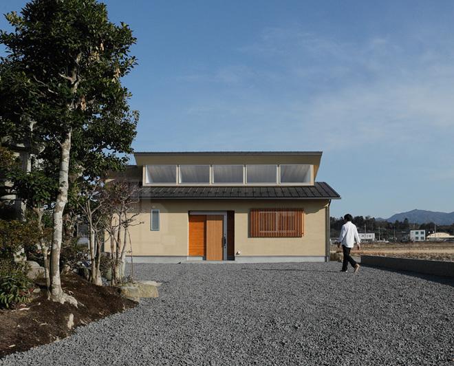 Nhà một tầng chốn thôn quê đơn giản và thanh lịch
