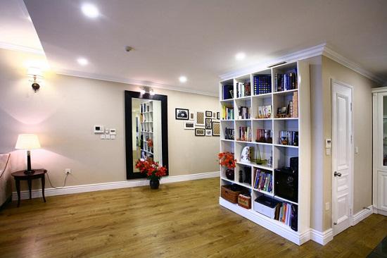 Thiết kế nội thất kết hợp cổ điển và hiện đại